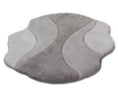 Kleine Wolke 4031977378 Badteppich Excelsior, 90 x 130 cm, Platin