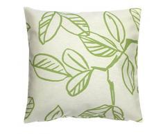 Home fashion 66543-168 grün H:50 x B:50 cm Kissen dekostoff bedruckt
