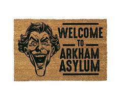 Pyramid International Door Mat The Joker (Welcome to Arkham Asylum) Fussmatte, Coconut with Rubber Bottom, Mehrfarbig, 60 x 1.5 x 40 cm