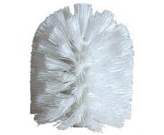 iDesign Ersatzkopf für Toilettenbürste, Weiß