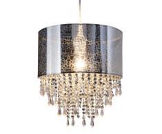 Naeve Leuchten Pendelleuchte mit Acrylsteinchen, ø 30 cm, l: 120 cm 6048442