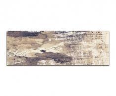 Panoramabild auf Leinwand und Keilrahmen 150x50cm Hintergrund abstrakt Grunge Texture
