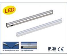 IBV LED Lichtleiste, 9,36 W, 4000 K,875 mm, 790 lm, alu 982109-102