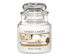 Yankee Candle Hochzeitstag, Kerze, Glas, Weiß, 5,8 x 5,8 cm, 1 Einheiten