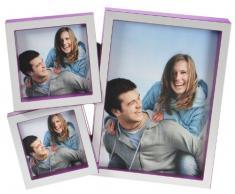 Goldbuch 930067 Galerierahmen La Vita für 3 Bilder, violett