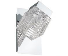 EGLO 92662 Wandstrahler, Metall, Integriert, transparent