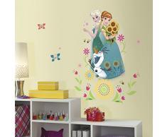 RoomMates RMK3018GM RM - Disney Frozen Anna und ELSA Wandtattoo, PVC, Bunt, 53 x 6.5 x 6.5 cm