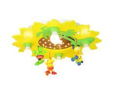 Elobra Deckenleuchte Sonne mit Palme und Mobile 4/20 ELO-128077