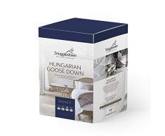 Snuggledown Bettdecke ungarische Gänsedaunen, 10.5 Tog Für die ganze Jahreszeiten, Super King