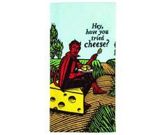 Blue Q Have You Tried Cheese? Geschirrtuch