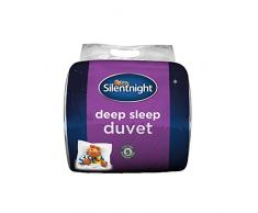 Silentnight Bettdecke Deep Sleep, weiß, Microfaser, weiß, King Size