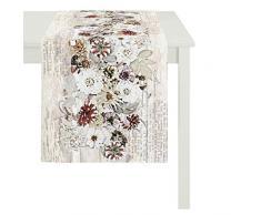 Apeltstoffe 3309 _48x135_Fb. 20 Tischläufer, Baumwolle, beige, 48 x 135 x 0.5 cm