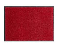 Hanse Home Waschbare Schmutzfangmatte Soft & Clean Bordeaux, 39x58 cm