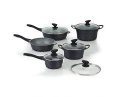 Tognana Snackschale 10 tolle Küche Kochgeschirr-Set, grau