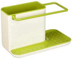 Joseph Joseph Caddy - Ordnungshelfer für das Spülbecken, klein - weiß/grün