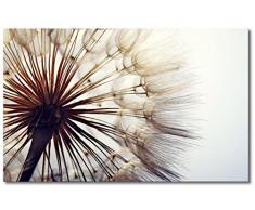 WandbilderXXL® Gedrucktes Leinwandbild Big Dandelion 80x50cm - in 6 verschiedenen Größen. Fertig gespannt auf Holzkeilrahmen. Günstige Leinwanddrucke für Kinderzimmer Schlafzimmer.