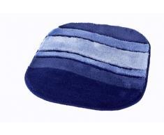 Kleine Wolke 5476712539 Badteppich Siesta, 55 x 65 cm, Sorrento-azurblau