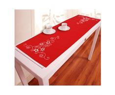 Vervaco Tischläufer Weiße Sterne & Kringel Zählmusterpackung-Tischdecke-Stickpackung, Baumwolle, Mehrfarbig, 30 x 105 x 0.3 cm