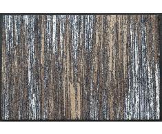 Wash + Dry Fußmatte, Acryl, Beige, 50x75 cm