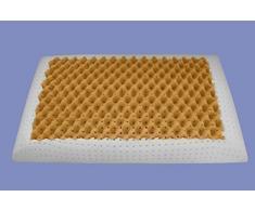 Supply24 Orthopädisches Gel/Gelschaum Air Massage Kopfkissen/Nackenkissen/Nackenstützkissen 80 x 40 x 12 cm Kissen mit 2 Seiten weich + mittel