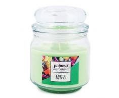 pajoma Duftkerze Exotic Sweets Sweet Edition im Bonbonglas, 248 g, Premium Kerze zum verschließen, für Circa 55 Stunden