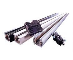 Deko-Light Schienensystem 3-Phasen 230 V, Adapter für Leuchtenmontage, 220-240 V AC/50-60 Hz 445020