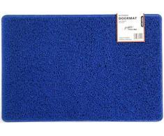 Nicoman Schmutzfänger Barrier Fußmatte schwere Bodenmatte-(Geeignet für Innen- und Schützen Außen), Klein (60x40cm), Blau