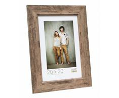 Deknudt Frames S48SH3 Bilderrahmen 50x60 Bilderrahmen braune Holzfarbe Holz Fotokader