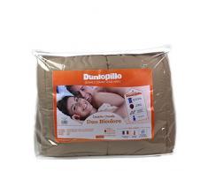 Dunlopillo COMIFH140200TBDPO Duo-maison Bettbezug, 140 x 200 cm, Taupe