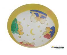Niermann Standby Deckenleuchte, Plastik, multicolor, 45 x 45 x 10 cm