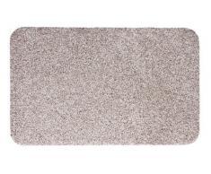 andiamo Schmutzfangmatte Samson waschbare Fußmatte für den Innenbereich, 50 x 80 cm hellbeige
