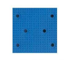 Spirella Duschmatte Badematte Badewannenmatte Badewanneneinlage antibakteriell rutschfest mit Saugnäpfen - Alaska Blau - ca. 36 x 91 cm