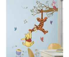 RoomMates RMK2463GM RM - Disney Winnie Puuh Schnapp den Honig Wandtattoo, PVC, Bunt, 48 x 13 x 2.5 cm