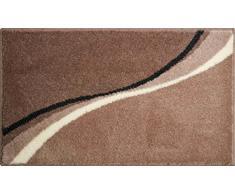 Grund Badteppich 100% Polyacryl, ultra soft, rutschfest, LUCA, Badematte 80x140 cm, taupe