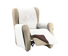 Martina Home Martina Dual Cover Sofaüberwurf mit wendbarer Polsterung 1 Platz Beige/Braun