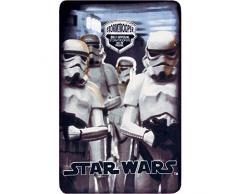 Disney Star Wars Fleecedecke 100x150cm Kuscheldecke Kinderdecke Decke Bettdecke