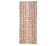 Jute & co. Teppich 100% Baumwolle rot 120x180