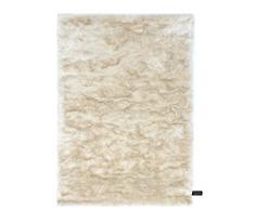 Benuta Shaggy Hochflor Teppich Whisper Beige 80x150 cm | Langflor Teppich für Schlafzimmer und Wohnzimmer