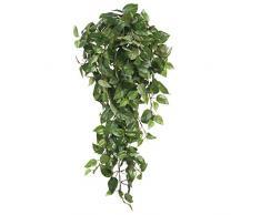 Mica decorations 953283 Scindapsus Haengend L80B30H15 Kunstpflanze, Polyester, grün, 80 x 30 x 15 cm