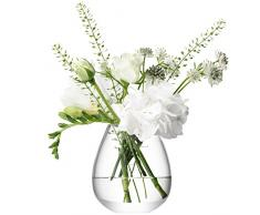 LSA International 9,5 cm Blume Mini Tisch Vase, transparent