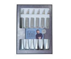 Jamie Oliver 555283 Steakmesser, Edelstahl