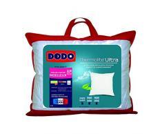Dodo Maxiconfort Ultra Kopfkissen, 60 x 60 cm, Kunstfaser, medium, Weiß