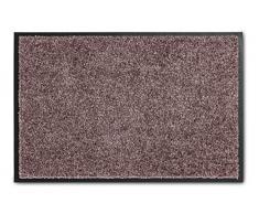 ASTRA hochwertige Sauberlaufmatte – waschbare Fußabstreifer – robust – langlebige Fußabtreter – für den Indoorbereich – Burgund – 60 x 180 cm