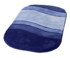 Kleine Wolke 5476712360 Badteppich Siesta, 60 x 100 cm, Sorrento-azurblau