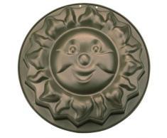 Städter 568044 Backform Sonja die Sonne, Antihaftbeschichtet, grau, 23 x 17 x 3 cm,