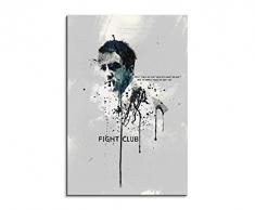 Paul Sinus Art Fight-Club_90x60-SA Wandbild Leinwand, 90 x 50 x 3 cm, mehrfarbig