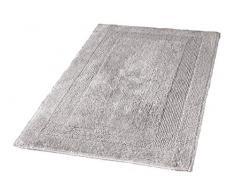 Kleine Wolke 5477146657 Badteppich Arizona, 80 x 140 cm, Grau(Silbergrau)