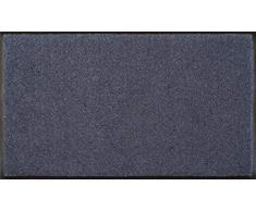 Wash+Dry Fußmatte Stahlblau 75x120 cm