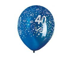 Happy People 16752 TIB Heyne, Luftballons mit Druck, bunt