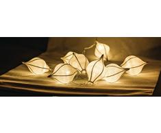 HQ Lichterkette Wassertropfen 10 LED, weiß HQLEDSLWTRDRW